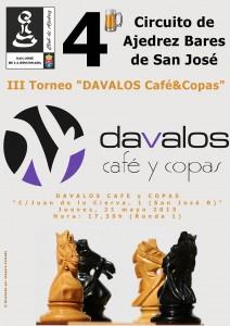 """III Torneo """"Dávalos café y copas"""""""