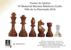 Cartel IV Memorial Mariano Mimbrero
