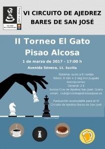 II Torneo El Gato Pisao Alcosa @ El Gato Pisao   Sevilla   Andalucía   España