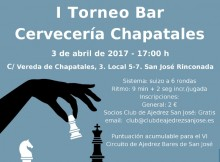 Cartel I Torneo Chapatales