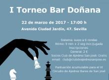 Cartel I Torneo Doñana