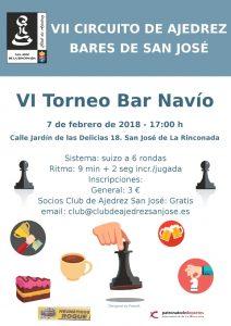 VI Torneo Bar Navío @ Bar Navío | San José de la Rinconada | Andalucía | España
