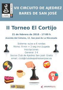 II Torneo El Cortijo @ Cervecería & Restaurante El Cortijo | San José de la Rinconada | Andalucía | España