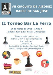 II Torneo Bar La Ferro @ Bar La Ferro | San José de la Rinconada | Andalucía | España