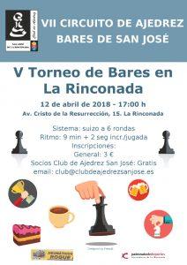 V Torneo de Bares En la Rinconada @ BisBar | La Rinconada | Andalucía | España