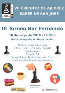 III Torneo Bar Fernando @ Bar Fernando | Alcalá del Río | Andalucía | España