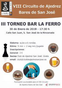 III Torneo Bar La Ferro @ Bar La Ferro
