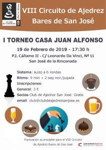 I Torneo Casa Juan Alfonso @ Casa Juan Alfonso