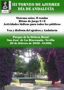 III Torneo Día de Andalucía @ Parque Dehesa Boyal