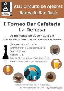 I Torneo Bar Cafetería La Dehesa @ Bar Cafetería La Dehesa