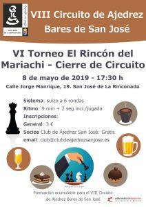 VI Torneo El Rincón del Mariachi - Cierre de Circuito @ El Rincón del Mariachi