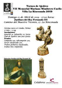 VII Memorial Mariano Mimbrero Cuello @ Jardines del Rey Fernando III