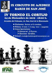 IV Torneo El Cortijo @ Cervecería & Restaurante El Cortijo