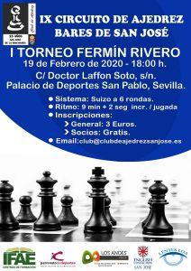 I Torneo Fermín Rivero @ Palacio de Deportes San Pablo