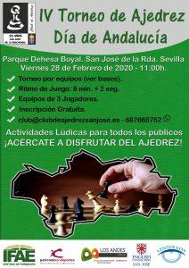IV Torneo Día de Andalucía @ Club de Ajedrez San José