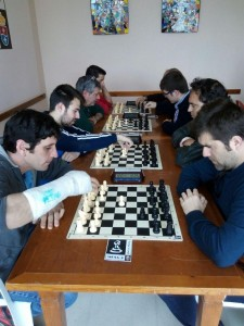 Primera ronda, tableros 1 a 4