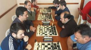 Tercera ronda, tableros 1 a 4