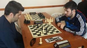 Crhistian Suárez y Juan Chacón, tablas