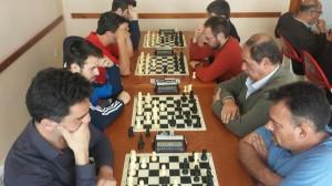 Quinta ronda, tableros 1 a 4