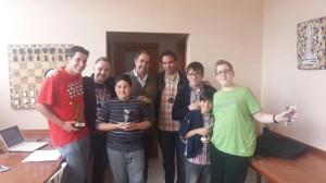 Premiados del torneo
