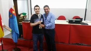 Campeón: MF Pedro Eugenio Torres Ventosa