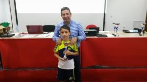 Campeón U1800: Álvaro Manzano León