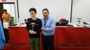 Campeón Sub16: Santiago García Jimenez