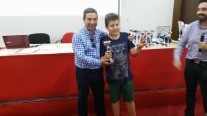 Subcampeón sub12: Miguel Ángel Sillero Lugo