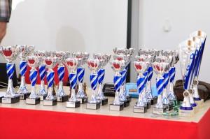 Trofeos y obsequios del XXII Open de Feria de San José