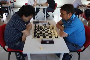 Mesa 4: José David Aguilera - Daniel López (0-1)