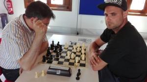 Mesa 3: Jorge Rincón - Pedro Olegario (1-0)