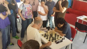 Mesa 3: Daniel López - Manuel López (1-0)