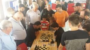 Gran expectación en la partida entre Santiago García y Fernando López (tablas)