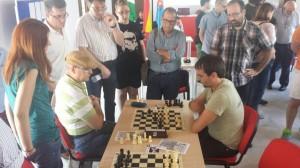 Final de la partida Sergio Segura - MC Pedro Torres (0-1)