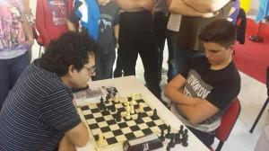 Final de la partida Francisco Miguel Callejas - Daniel López (tablas)